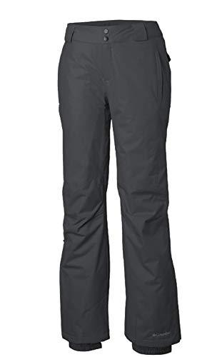 Columbia Women's Arctic Trip Snow Omni Heat Waterproof Pants (S, Slate Grey)