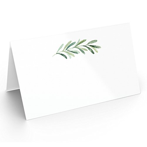 25 Table Place Cards | Elegant Branch Style | Perfect for Weddings, Holidays, Dinner Parties, Birthdays, Buffets and Catering
