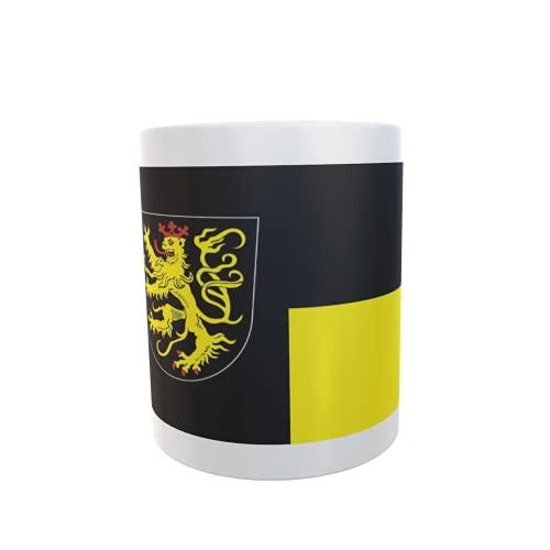 U24 Tasse Kaffeebecher Mug Cup Flagge Neustadt an der Weinstraße