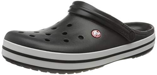 Crocs Crocband Clogs, Zuecos Unisex Adulto, Black, 41/42 EU