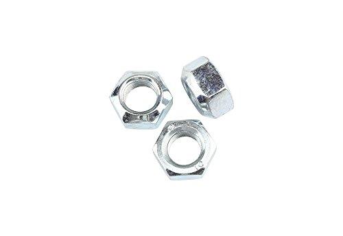 10 Stk DIN 980 Sicherungsmutter M24x2 - Stahl verzinkt - Festigkeit 10