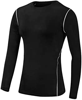 BEESCLOVER Hot Women High Quality Compression Tights Clothing Fitness Gym Top Exercise Training Sports Running Long Sleeve Red Yoga Shirts Black XL