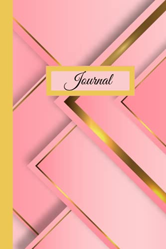 Dot Grid Journal/Notebook: Pink and Gold Gradient
