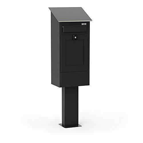 Flexbox Briefkasten Gustav 9801 Schwarz