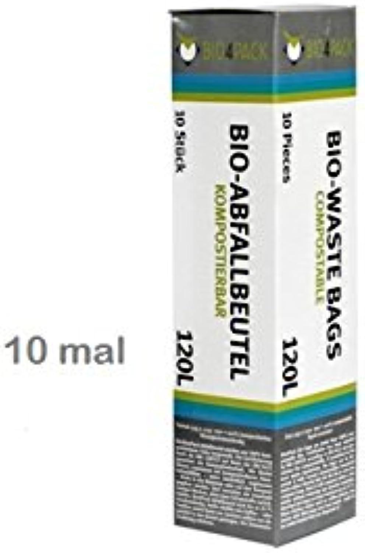120 Liter Abfallbeutel Biomüllbeutel Biobeutel Müllbeutel Kompostbeutel 10 Rollen á 10 Stück