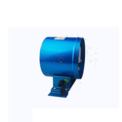 JYDQM Ventilador de conducto silencioso, Controlador de Velocidad, Ventilador de Escape, Potente Ventilador de Escape de frecuencia de Seis Pulgadas