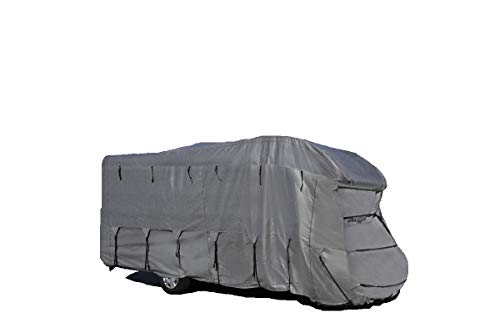 BRUNNER Camper Cover 6M, Wohnmobilabdeckungaus Atmungsaktivem und Wasserabweisendem Gewebe, 650-700 cm