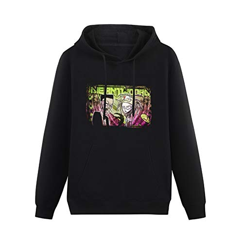 Cool Sweaters for Teenagers Die Antwoord Chappie Rapper Ninja Yo Landi Hip-hop Pullovers Black S