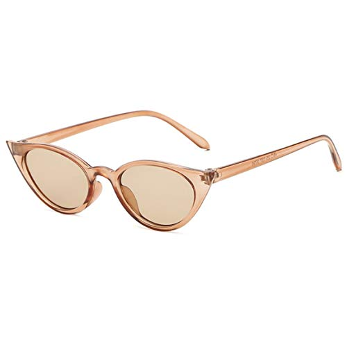 abbybubble Gafas de sol retro Cat Eye con montura pequeña