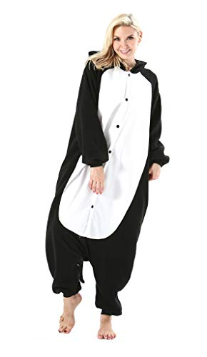 Adultos Animal Pijamas Cosplay Animales de Vestuario Ropa de Dormir Halloween y Carnaval Disfraces Gato Negro L