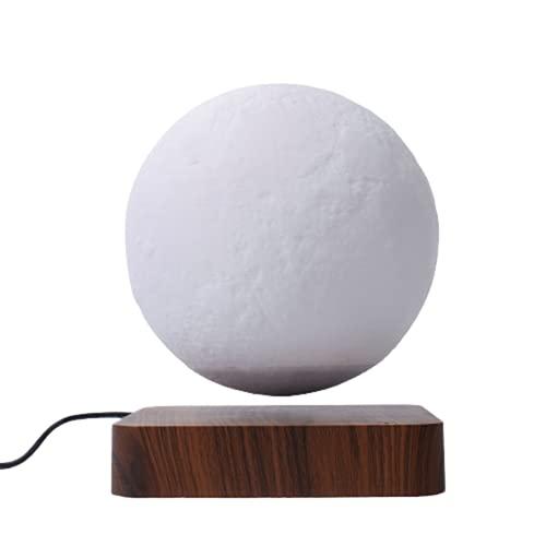 Luz Nocturna Levitación magnética Luz de Luna Impresión 3D Luz de Luna Decoración del hogar LED,Dark-Pattern