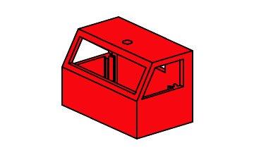 fischertechnik ® - 1 Stück - Auto Teile - Führerhaus - Fahrerhaus - 384