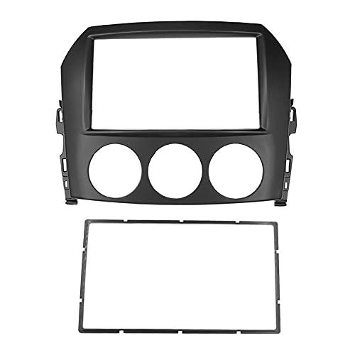 Deesen Tablero de Radio de Coche de 2 DIN para MX-5 MX5 Miata, Adaptador de Placa de Marco EstéReo de DVD, Kit de Embellecedor de InstalacióN de Tablero de Montaje