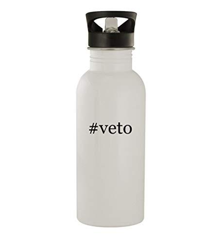 #veto - 20oz Stainless Steel Water Bottle, White