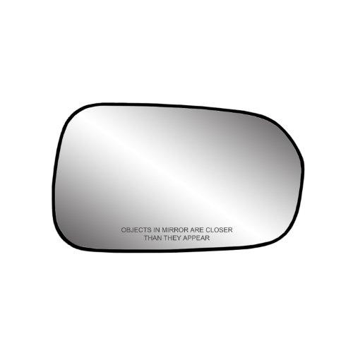 Fit System 80087 Passenger Side Non-Heated Mirror Glass w/Backing Plate, Honda Accord Sedan, Accord Sedan, 4 5/8' x 7 1/4' x 7 1/4' (US and Japan Built)