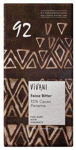 ViVANI オーガニック エキストラダークチョコレート92% ※20枚セット ※カカオたっぷり