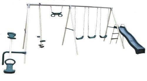 Big Sale Best Cheap Deals Flexible Flyer Fun Fantastic Swing Set with Plays
