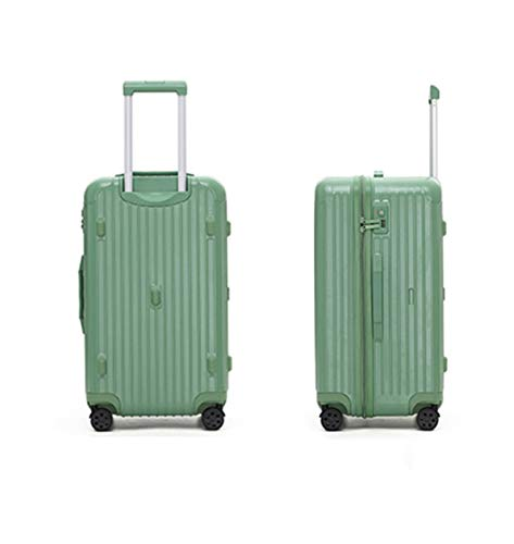 Tik LP Luggage set, Hard shell carry-on suitcase set, rollers, travel expandable lightweight ABS+PC suitcase, 26 inches 28 inches 30 inches 32inches (Color : Green, Size : 26)
