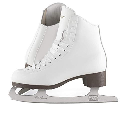 (Adult 10, White) - Jackson Ultima GSU120 GSU121 GSU124 Glacier White Figure Ice Skates for Women and Kids