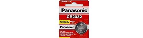 Panasonic CR2032 3V Lithium Coin Cell Battery DL2032 ECR2032 FAST USA SHIP