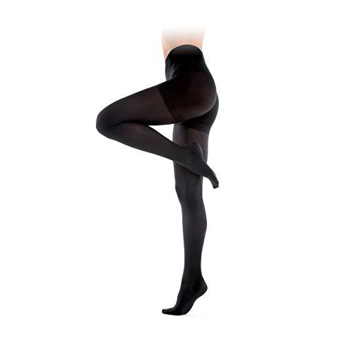 Collant a compressione graduata media 13-15 Hgmm- Collant contentivi- Calze a compressione da Donna-Calze Riposante