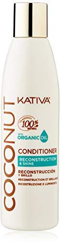 KATIVA Nut Conditioner, Multicolor, Coco, 250 Mililitros