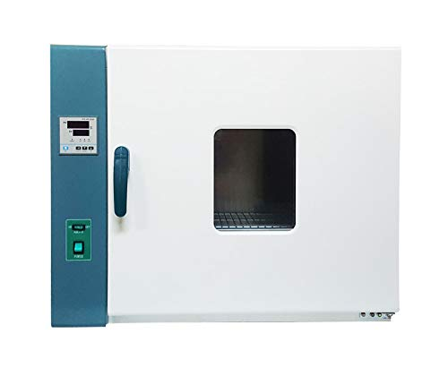 INTBUYING Digital Forced Air Convection Drying Oven Heat Industrial Lab Temperature Control 220V (13.813.813.8inch Chamber)