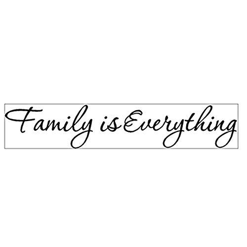 Husmniors Family is Everything - Adhesivo decorativo para pared, diseño de familia
