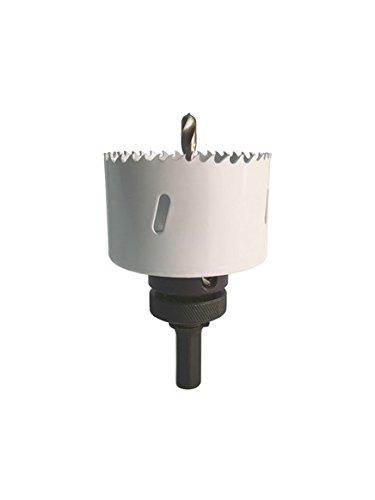 HSS Bi-Metall Lochsäge Durchmesser 133 mm Bohrkronen Dosenbohrer Trockenbau, mit Aufnahme