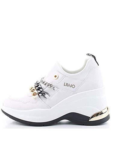 Liu.Jo - Karlie Revolution 10#01111 White BA0061PX09301111, Weiß - weiß - Größe: 40 EU