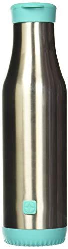 Ello Riley Stainless Steel Vacuum Insulated Water Bottle with Removable Base, Mint, 18 oz.