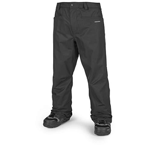 Volcom Men's Carbon Ergo Fit Snow Pant, Black, Large