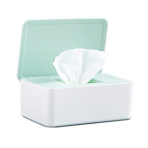 Feuchttücher Box,Feuchtes Toilettenpapier Box, Feuchttücherbox Weiß, Toilettenpapier Box,Kunststoff Feuchttücher Spender,Baby Feuchttücherbox,Baby Tücher Fall