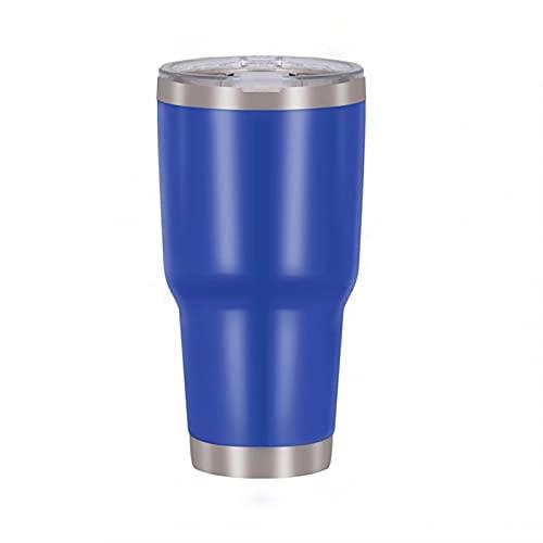 MJJCY Taza de Aislamiento de vacío de Acero Inoxidable Taza del tirano de Hielo Taza de Viaje al Aire Libre Botella de Agua de Viaje con Gran Capacidad Frasco de vacío Thermoses