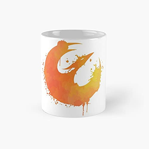 Sabine Wren's Starbird Classic Mug - Ceramic Coffee White (11 Ounce) Tea Cup Gifts For Bestie, Mom And Dad, Lover, Lgbt