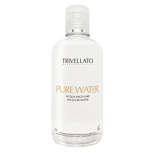 PURE WATER by Trivellato Dermocosmetics - solution micellaire - démaquillant et yeux doux