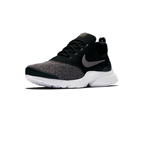 NIKE Air Presto Fly Women Sneaker Trainer (38 EU, Black/White)