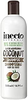 #MC INECTO Naturals Coconut Shampoo 500ML-pure Organic Coconut Oil This Lustre replenishing Formula Will Deeply Nourish and Leave Hair Feeling Heavenly.
