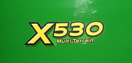 John Deere Lower Hood Decal Set for X530 Tractors M160900