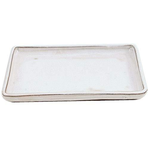 Bonsai - Untersetzer eckig 21 x 15 cm, Creme 53320