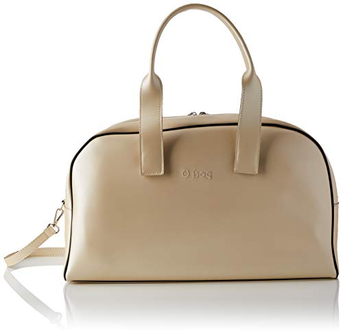OBAG O Bag H24, Borsa da Donna, Sabbia Metal, taglia unica