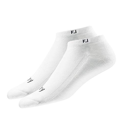 FootJoy Women's ProDry Low Cut 2-Pack Socks White Size 6-9