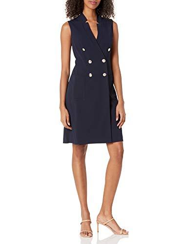 Tommy Hilfiger Women's Sailor Dress, Navy, 4