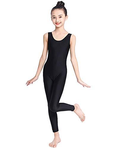 Kepblom Adult Women Tank Biketard Short Unitard Gymnastic Leotard Dance Bodysuit One Piece Short Jumpsuit Rblue, Large