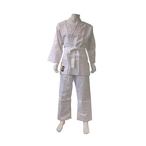 Montana 4010Unisex–Kimono de Judo, Color Blanco