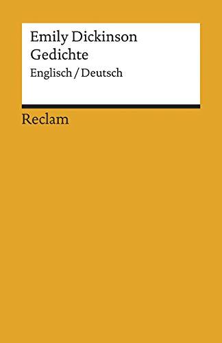 Gedichte: Englisch/Deutsch (Reclams Universal-Bibliothek)
