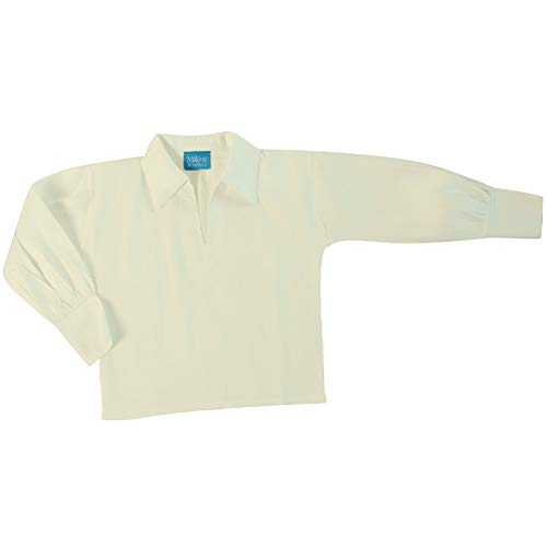 Making Believe Boys Basic Renaissance Shirt (Boys Small 6/8, Cream) - http://coolthings.us