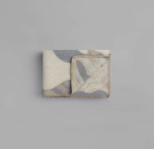 Røros Tweed byHands Fugl Og Fisk 1153-B - Manta para bebé (lana de cordero noruego, 100 x 67 cm)