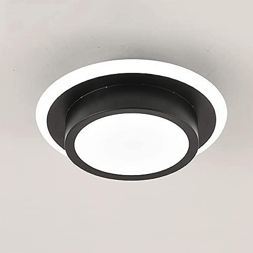 LXIANG Lámpara de Techo LED pequeña, lámpara de Techo de Pasillo de Pasillo de Entrada de balcón, guardarropa de Pasillo de Entrada y Otras lámparas de Espacio pequeño, lámpara de terraza de Cocina