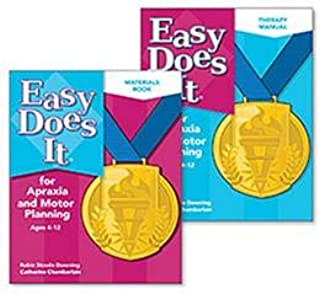 Easy Does It for Apraxia and Motor Planning - Complete 2-Book Set